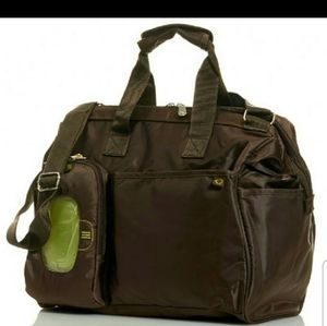 Fisher Price FastFinder Insulated Diaper Bag Brown